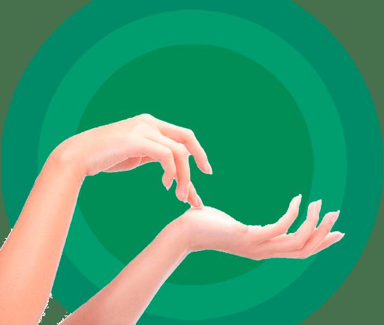 Липофилинг тыла кистей рук