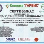 diploma sertif 40 - Децык Дмитрий Анатольевич