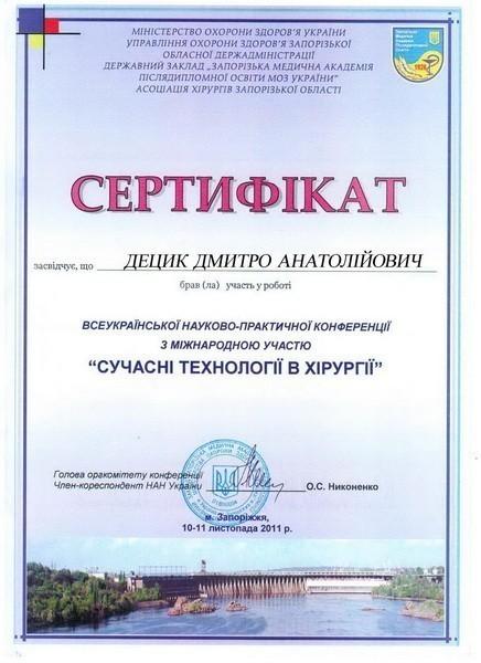 diploma sertif 52 - Децык Дмитрий Анатольевич