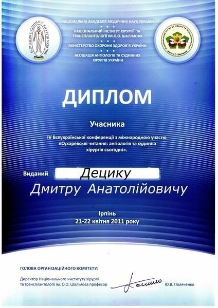 diploma sertif 53 - Децык Дмитрий Анатольевич