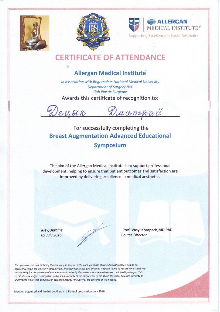 diploma sertif 71 - Децык Дмитрий Анатольевич
