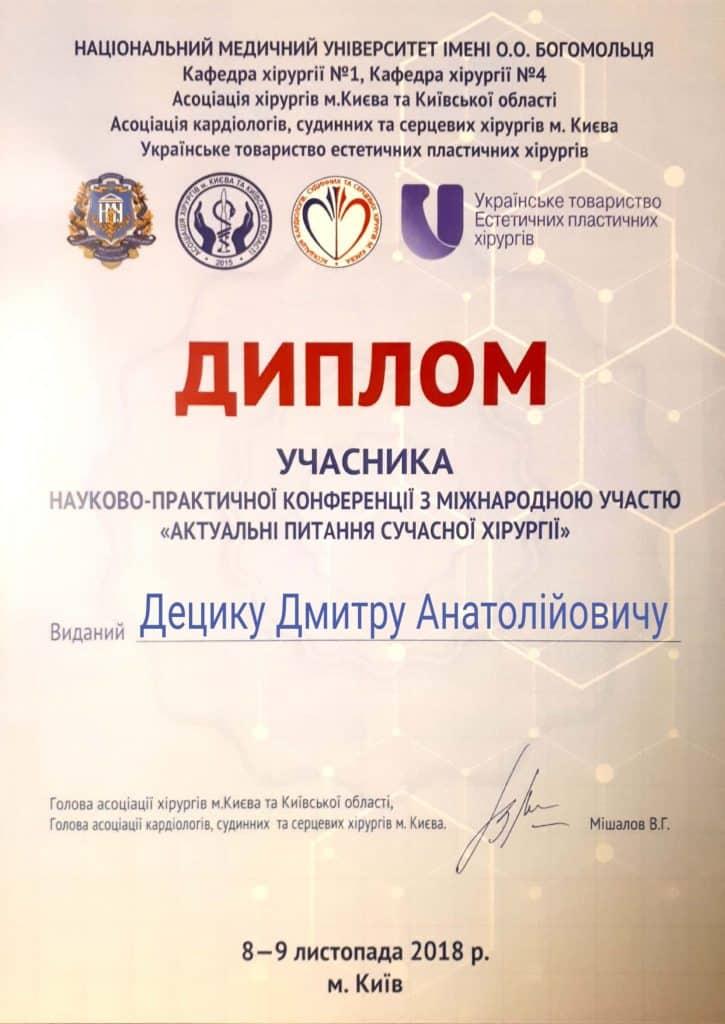 diploma sertif 74 - Децык Дмитрий Анатольевич